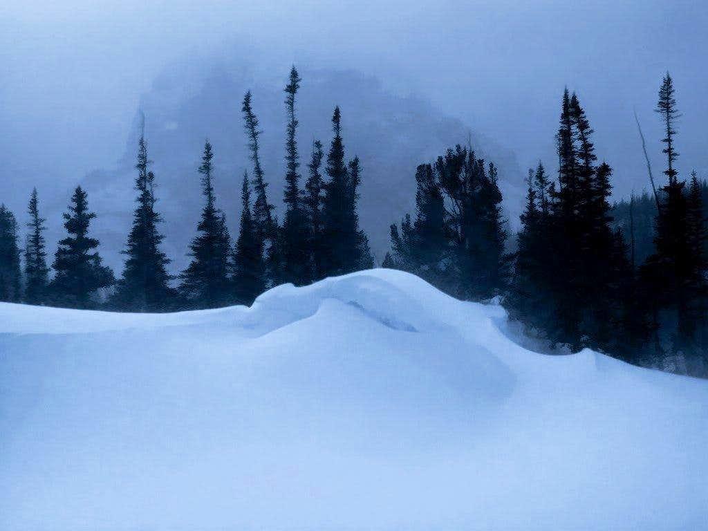 Loch Vale Winter