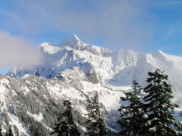 Mount Shuksan Winter Wonderland