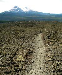The trail thorugh the lava feilds