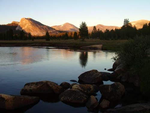 Lembert Dome and the Tuolumne River