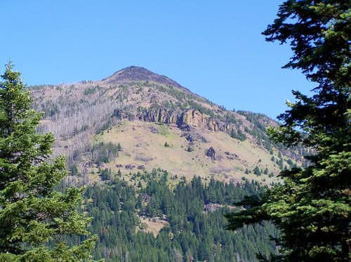 West face of Slide Mountain