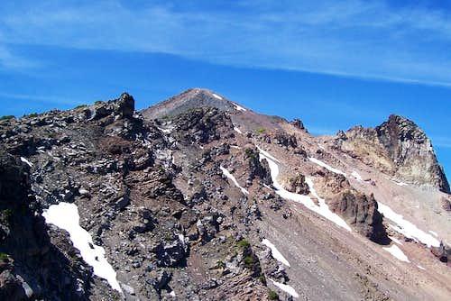 Mt Mcloughlin/oregon cascades