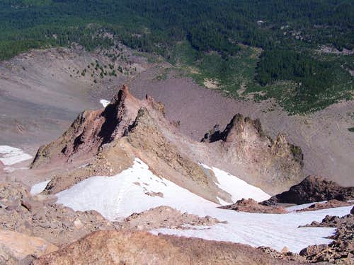 Mt Mcloughlin/Oregon cascades.