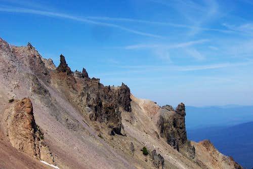 Mt Mcgloughlin/Oregon cascades.