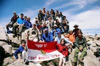 Troop 17 Atop Mount Shavano