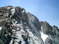Mt. Russell - North side East Ridge
