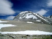 Mt. Tyndall from Shepherd's Pass