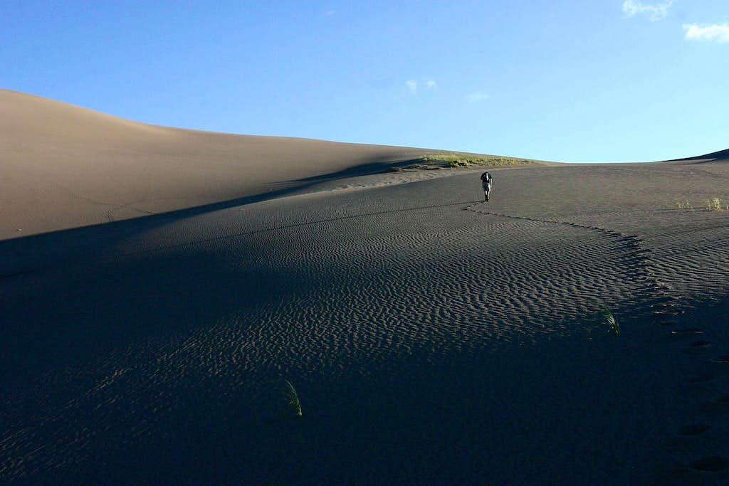 Hiking High Dune