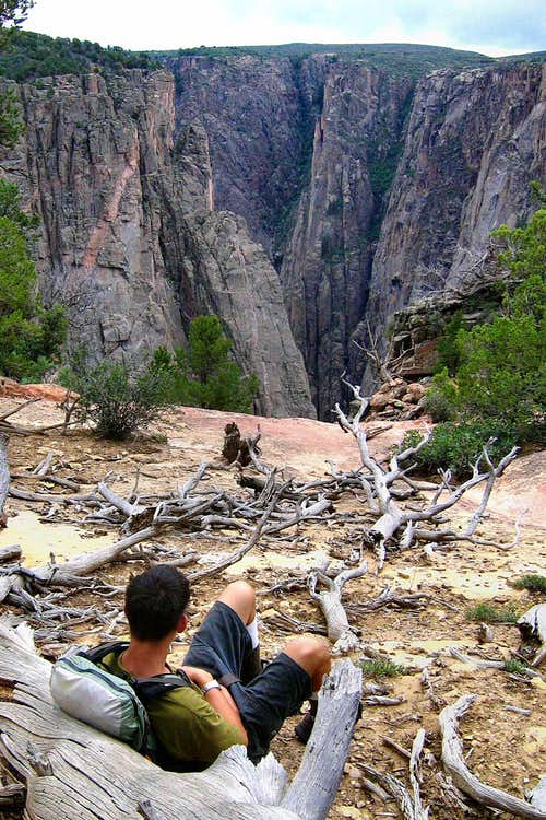 Waiting on the Old Man, Black Canyon of the Gunnison