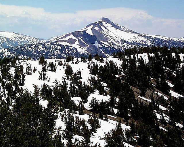 North side of Stanislaus Peak...