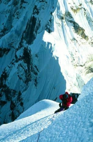 Chris Breemer, Cholatse s SW Ridge