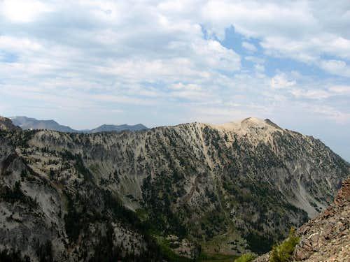 Bonneville and south ridge