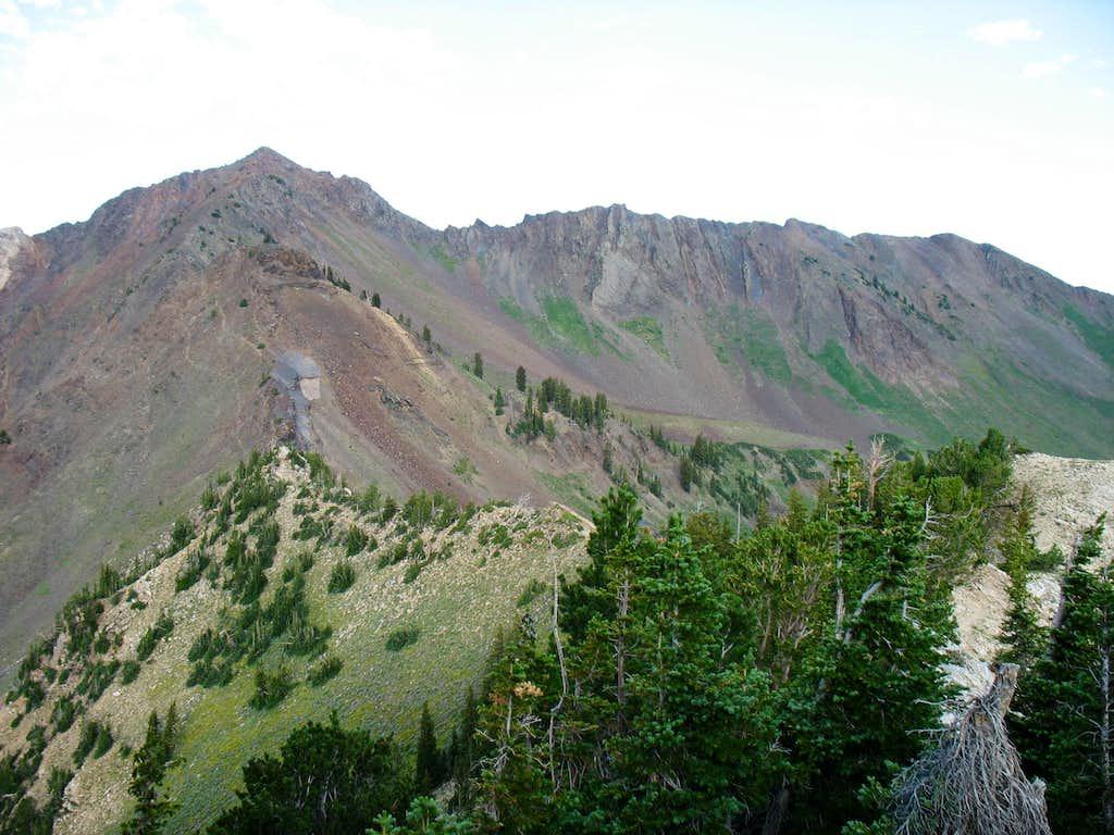 Mount Superior and it's North Ridge