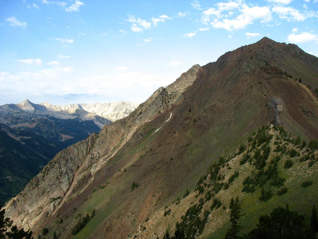 Mount Superior and the Alpine Ridge