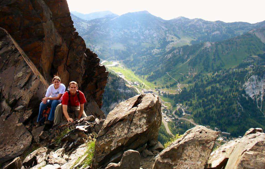 Ridge Scramble Above Alta