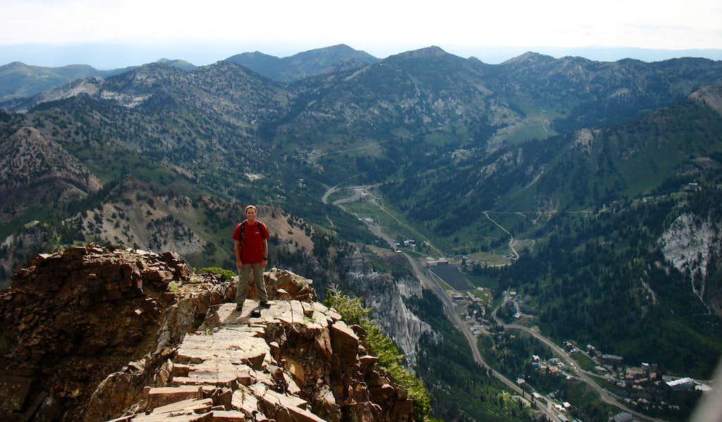 Brandon on airy east ridge