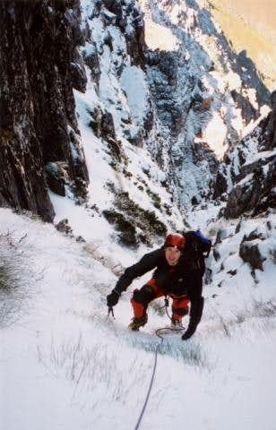 Winter ascent of