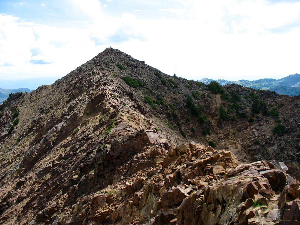 Ridge traverse from Monte Cristo to Mount Superior