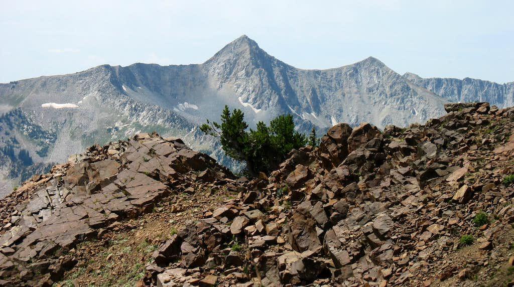 Pfeifferhorn from Mount Superior