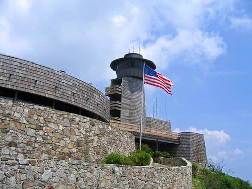 Obervation tower on Brasstown