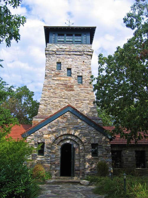 Observation tower on Cheaha