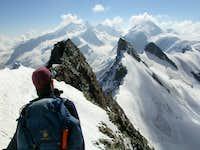 On the Ridge of Breithorn