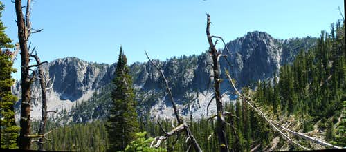 peak 9140 ridgeline