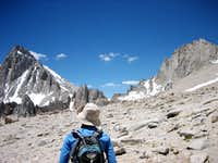 Mt. Whitney Left, Mt. Russell Right