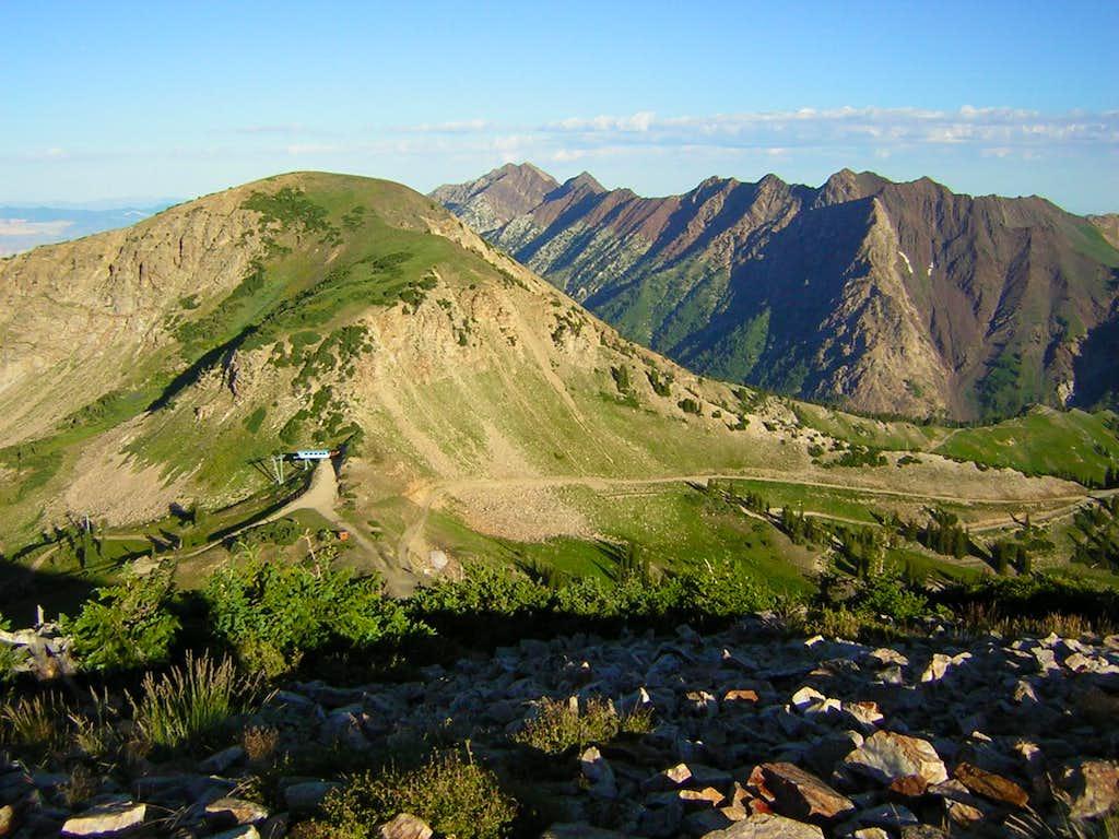 Mt Baldy from Sugarloaf