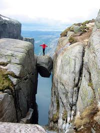 Dimitri doing the postcard...
