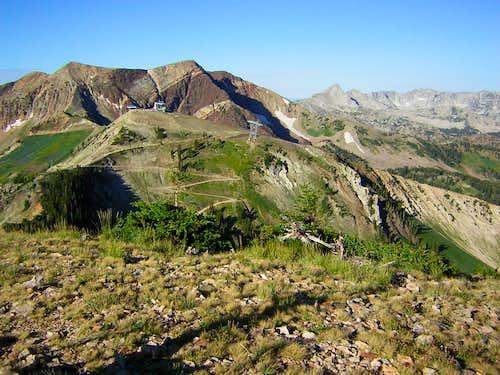 AF Twins & Hidden Peak from Baldy