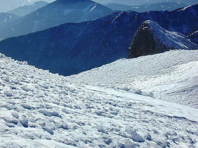 On a ski tour to Hochschwab....