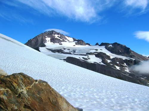 Wet days on Glacier Peak