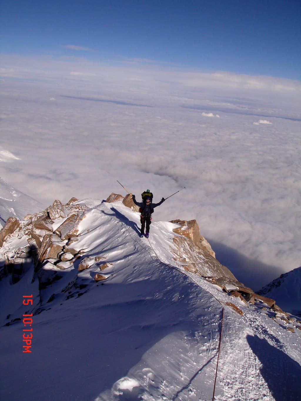 The Ridge below 17,200 foot Camp