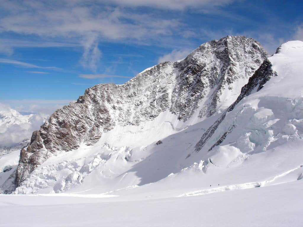 Dufourspitze from Italian side