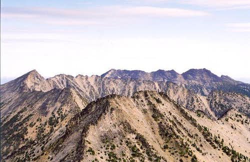 On the left is Mt. Bigelow...