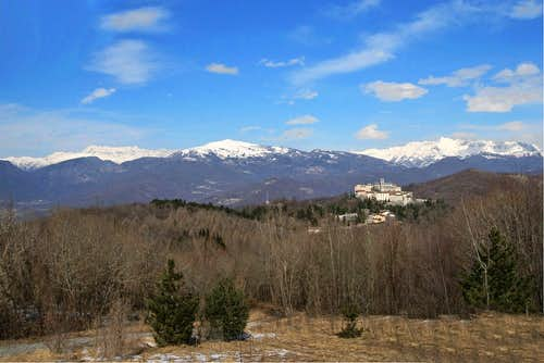 View on Southern Julian Alps