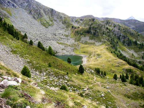 Chamolè lake