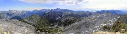 Incomparable panorama from Krn top
