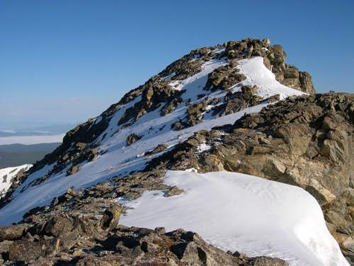 South Arapaho\'s summit...