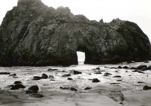 Arch Rock at Pfeiffer Beach