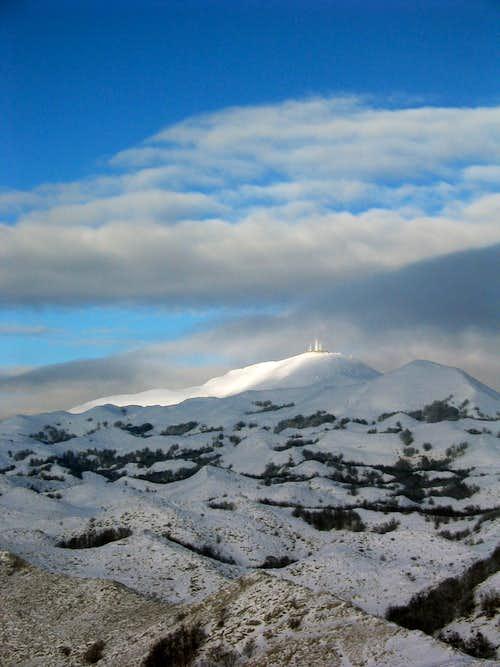 sv Jure in snow
