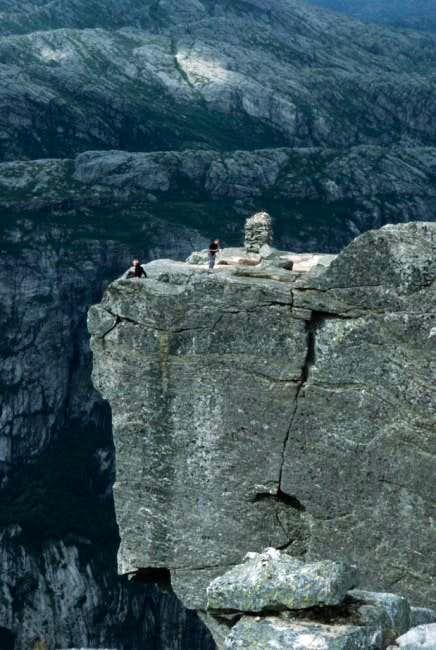 Top of Kjerag. Photo by Glen...