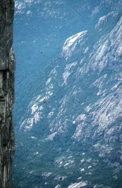 Now the 3 Base Jumpers are...
