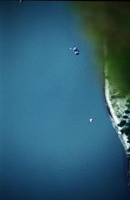 Looking down to the Kjerag...