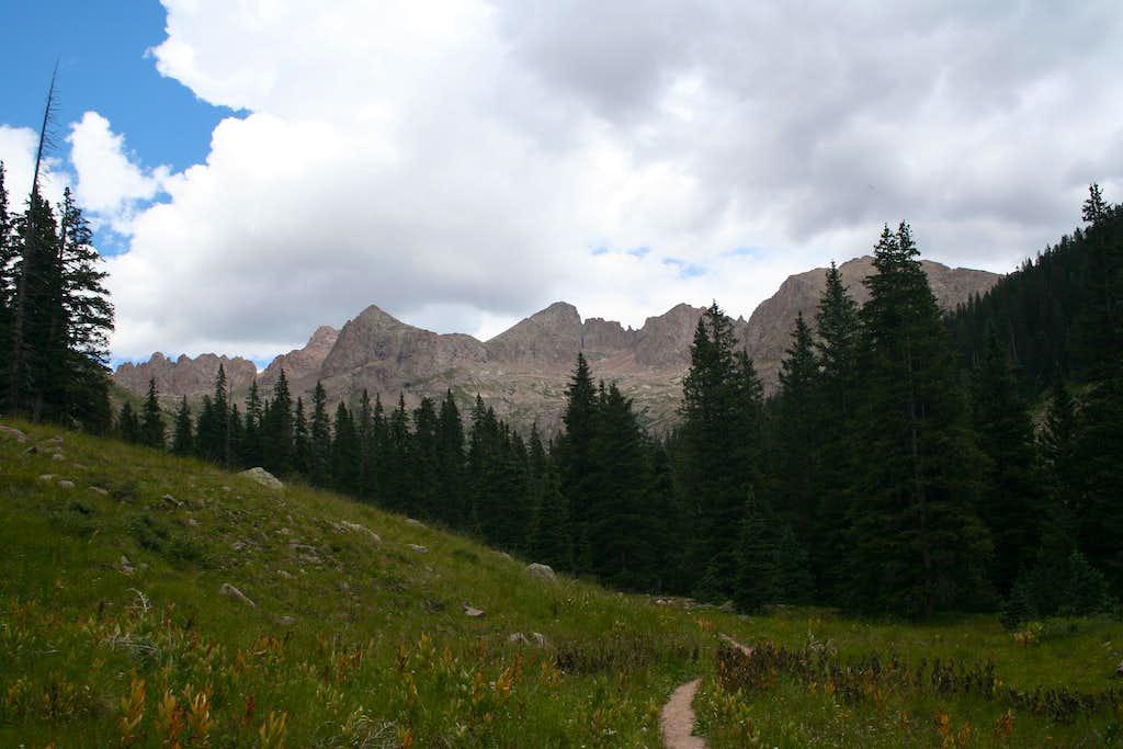 Chicago Basin Peaks