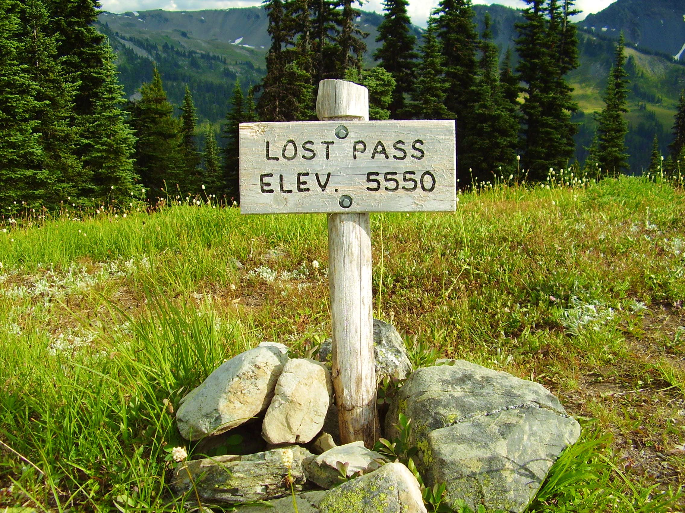 Lost Pass Route