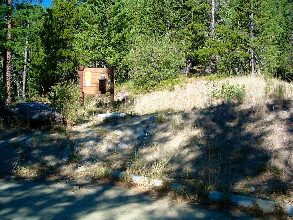 Sweeney Creek Trailhead