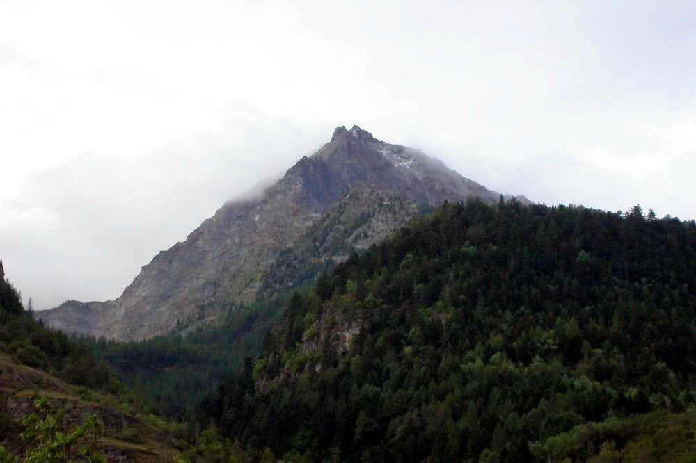 Becca di Nona (cresta est)