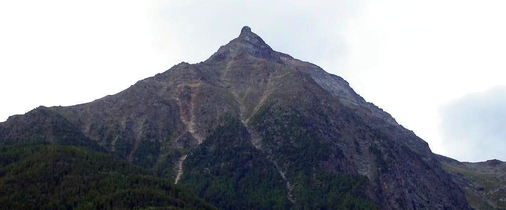 La Pointe de Salè (da nord)
